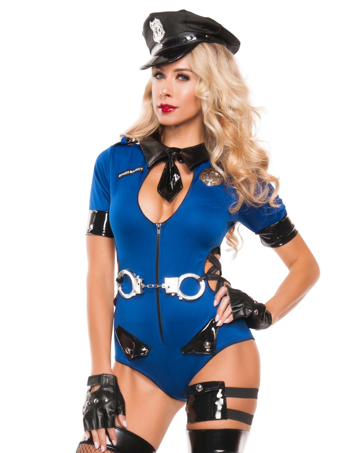 Bust Me Cop Costume