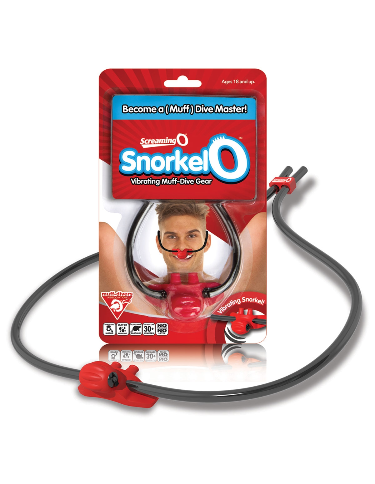 Screaming O Snorkel-O Vibrating Muff Dive Gear