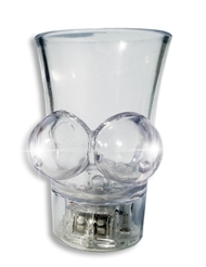 LIGHT UP BOOBIE SHOT GLASS