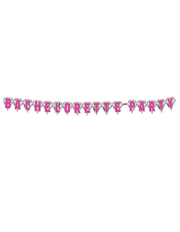 DIAMOND BACHELORETTE PARTY BANNER