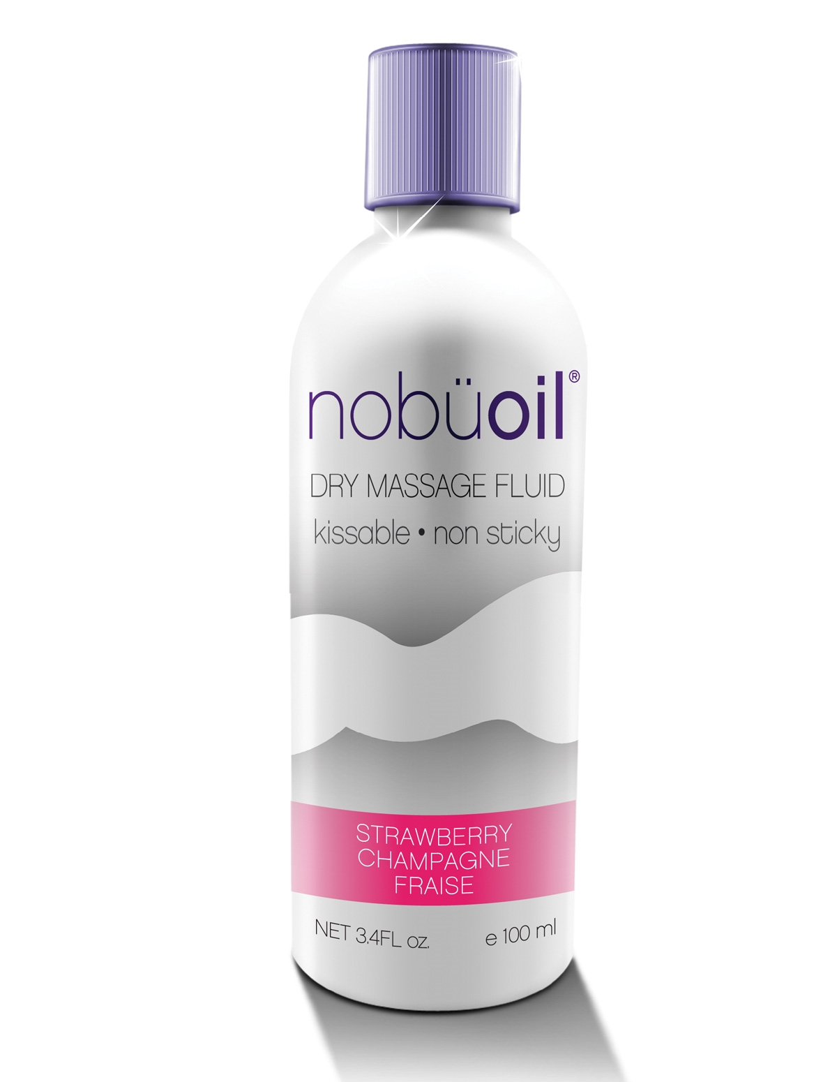 Nobu Dry Massage Oil Strawberry Champagne