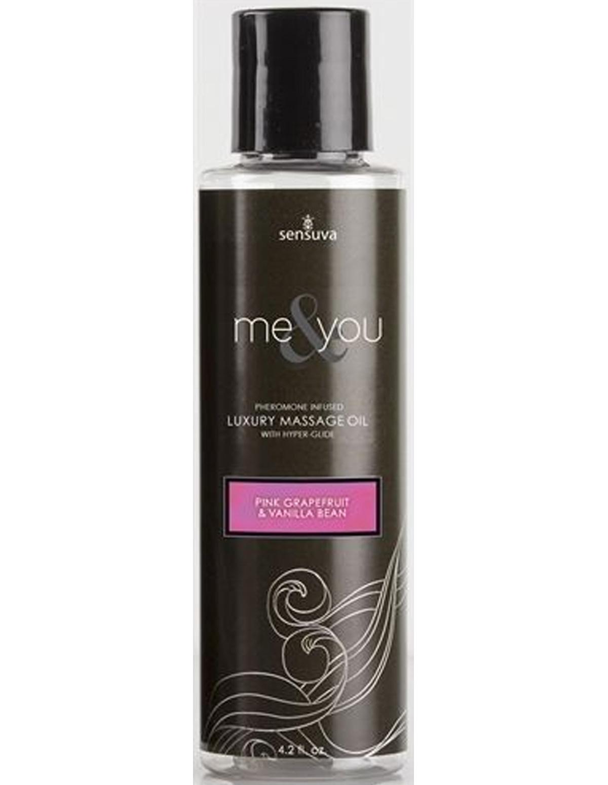 Me & You Massage Oil Grapefruit & Vanilla Bean