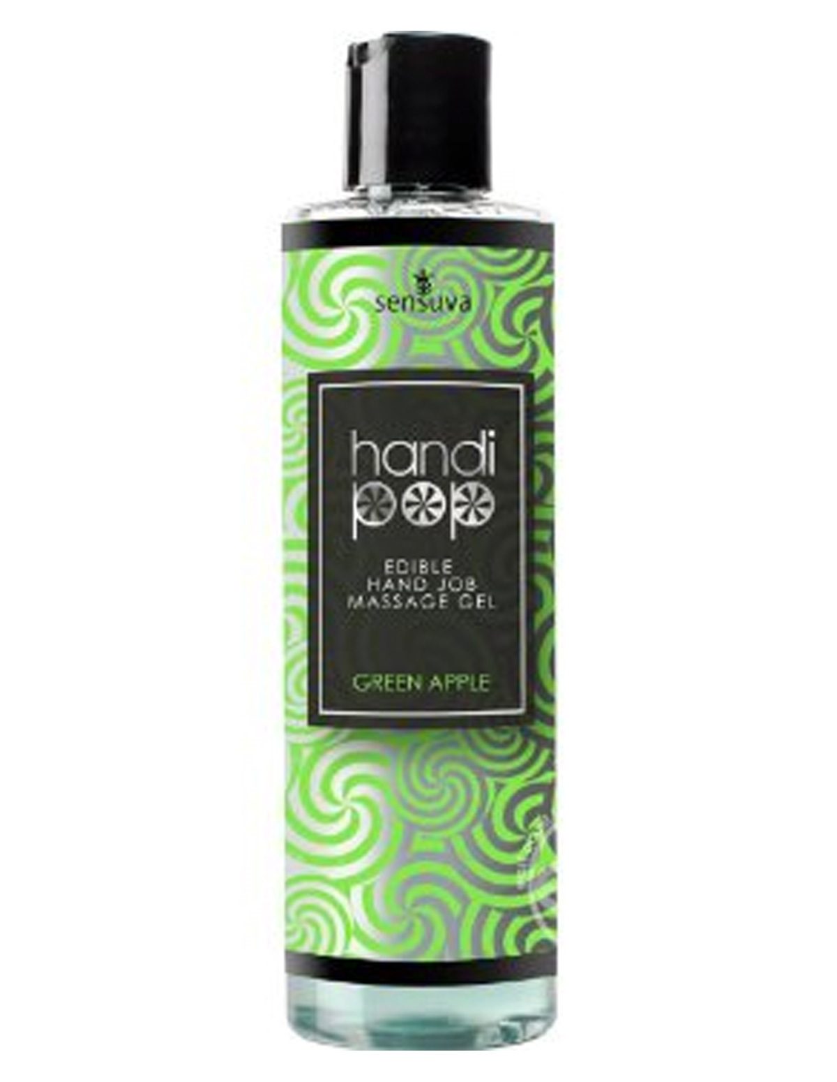 Handipop Handjob Gel - Green Apple
