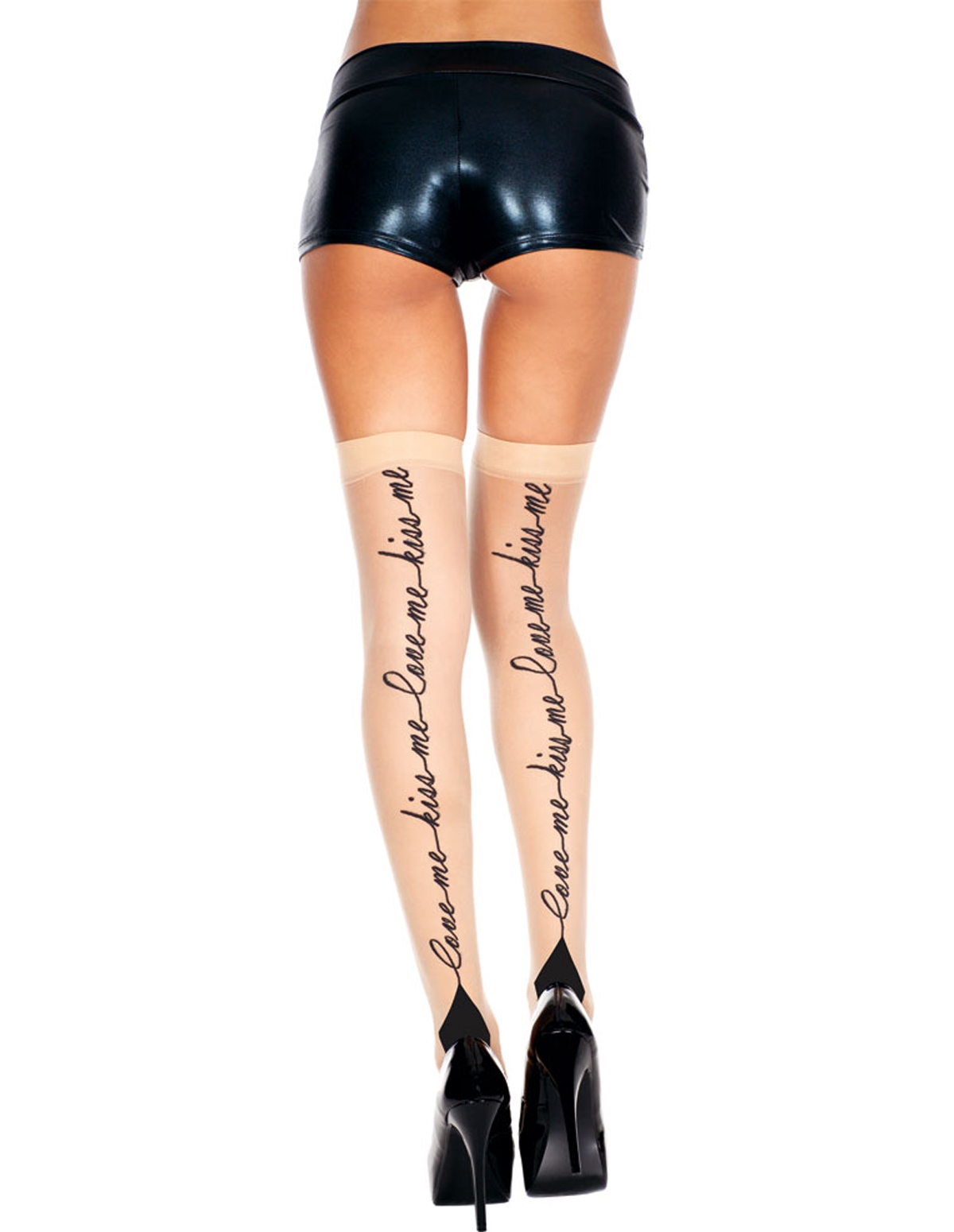 Kiss Me Sheer Cuban Stockings