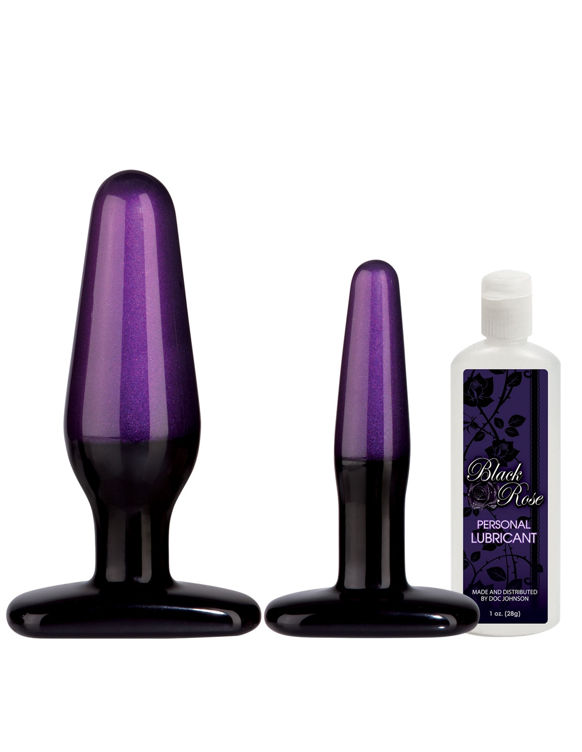 Black Rose Anal Trainer Kit