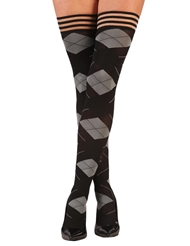 KIMMIE ARGYLE THIGH HIGH