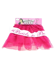 BRIDE TO BE TUTU PINK