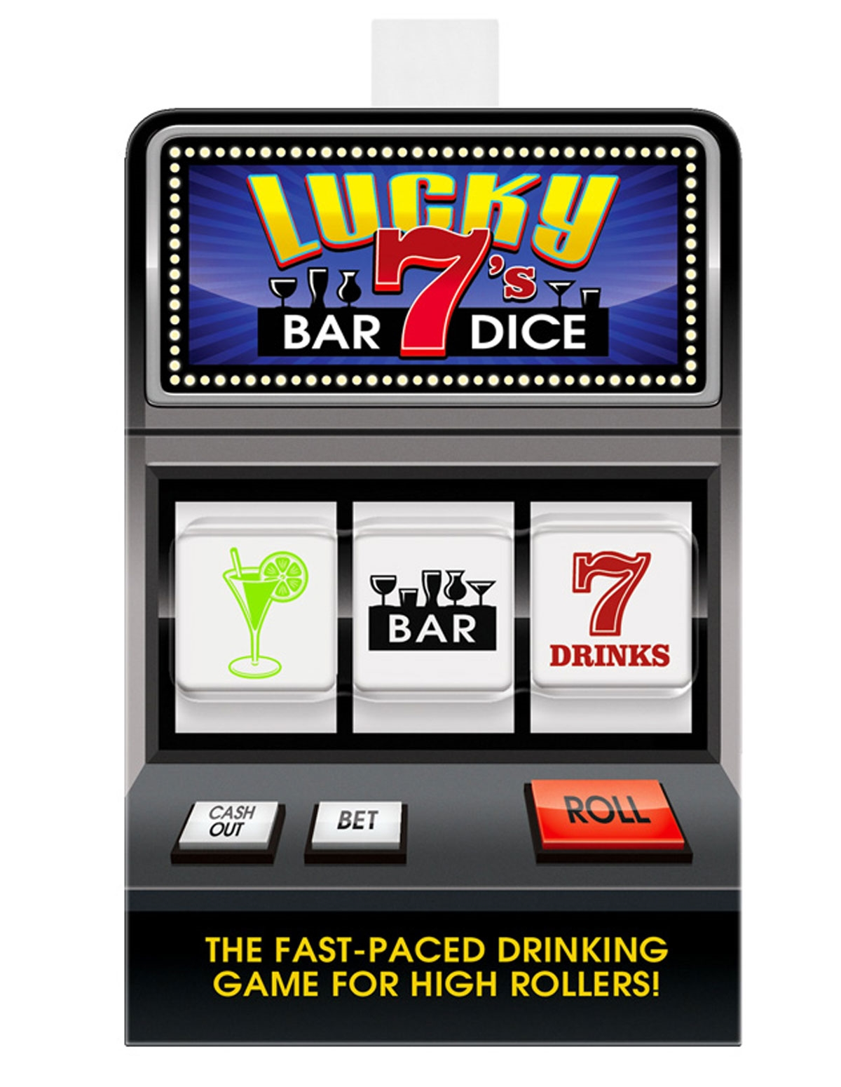 Lucky 7 Bar Dice Game