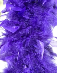 FEATHER BOA CHANDELLE