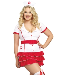 HOSPITAL HOTTIE COSTUME - PLUS