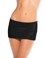 SCRUNCH BACK MINI SKIRT