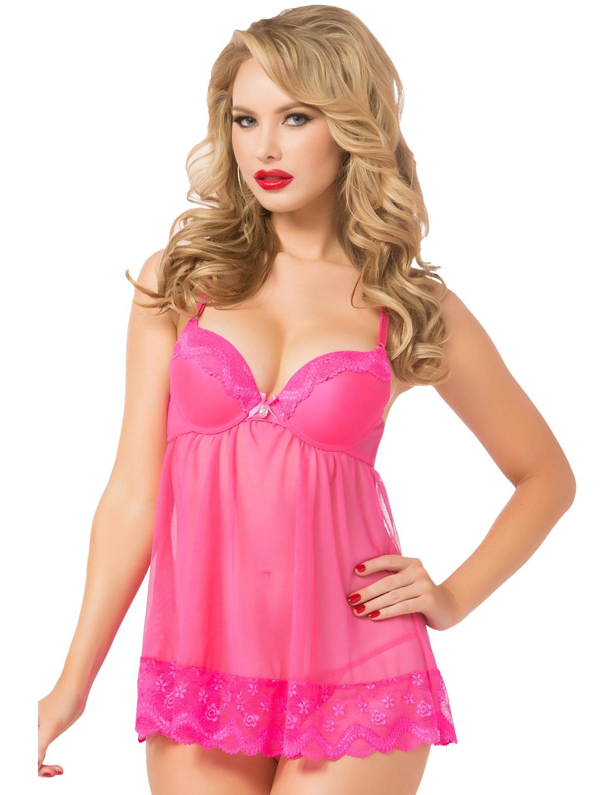 Pretty Pink Babydoll