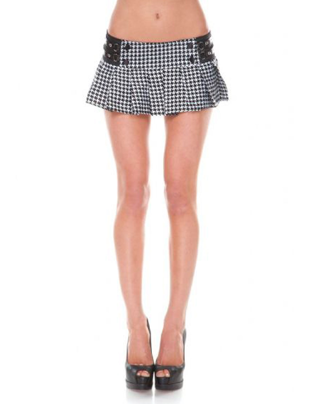 Checkered School Girl Skirt