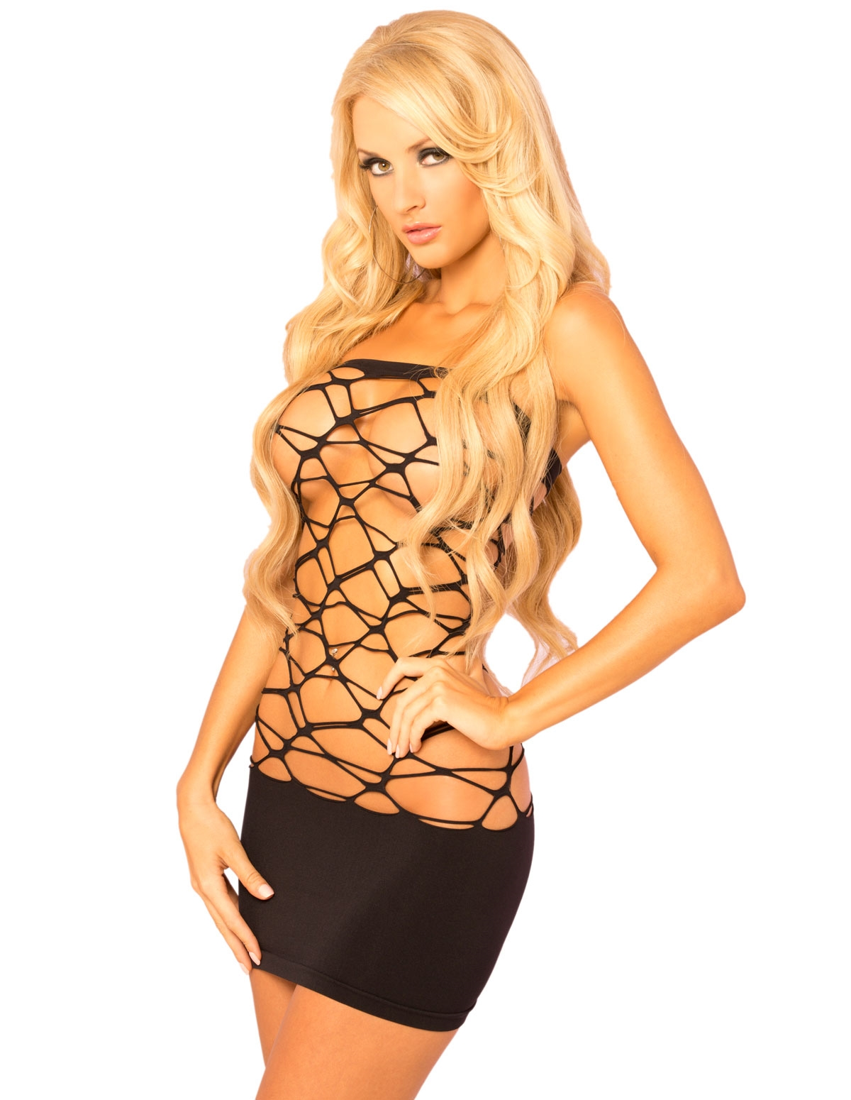 Web Of Seduction Wicked Seamless Dress
