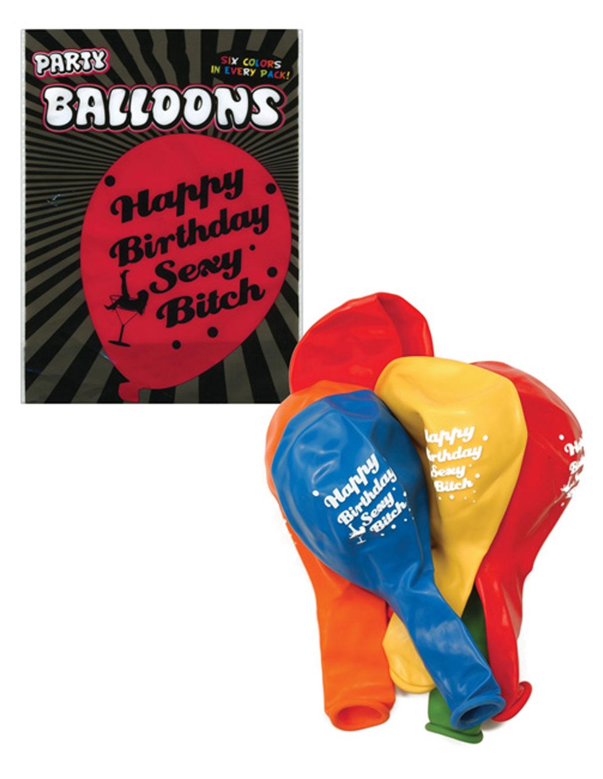 Sexy Bitch Birthday Balloons