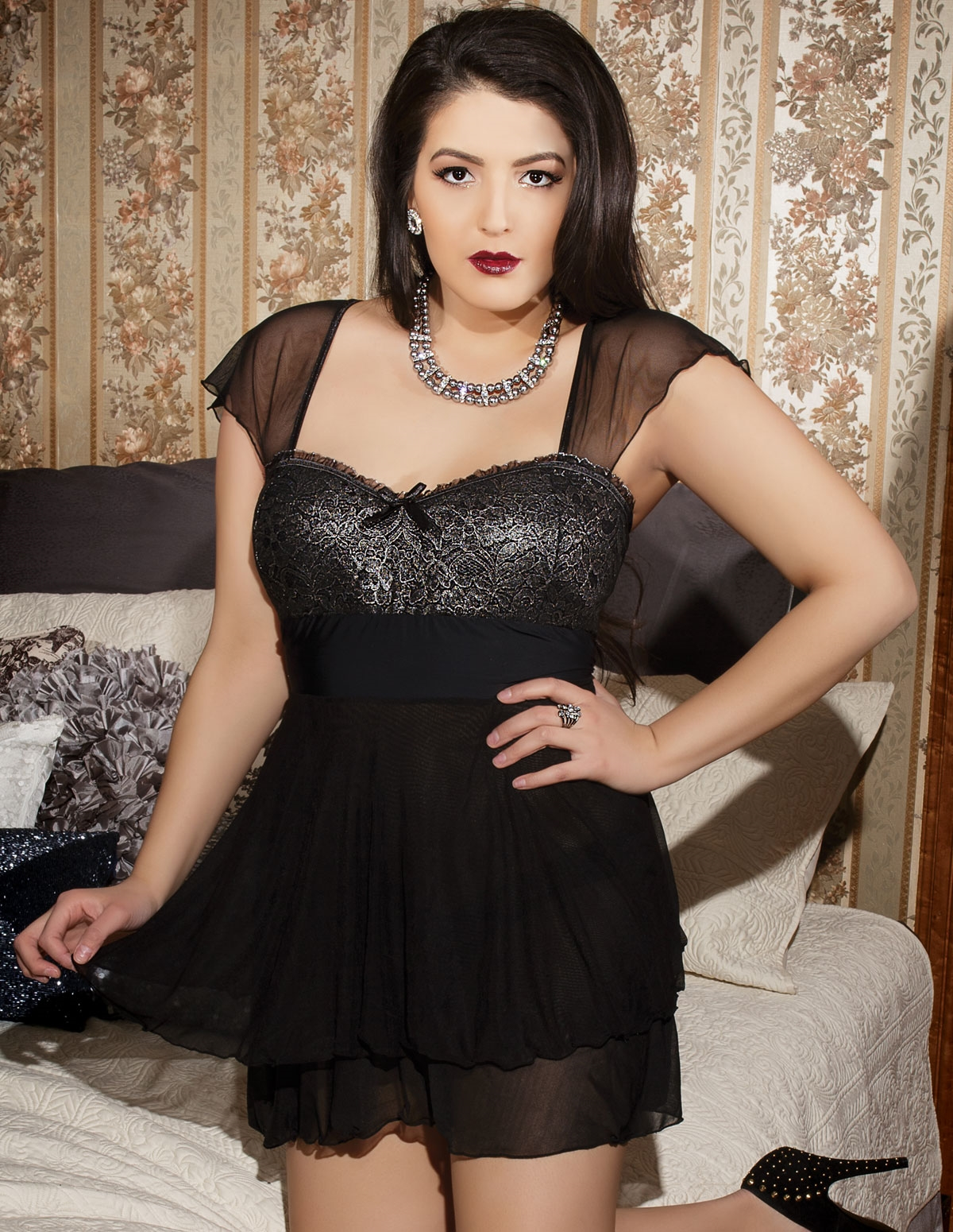Exquisite Taste Babydoll - Plus