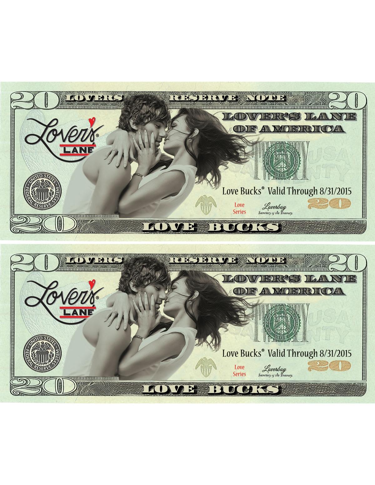 $40 Love Buck