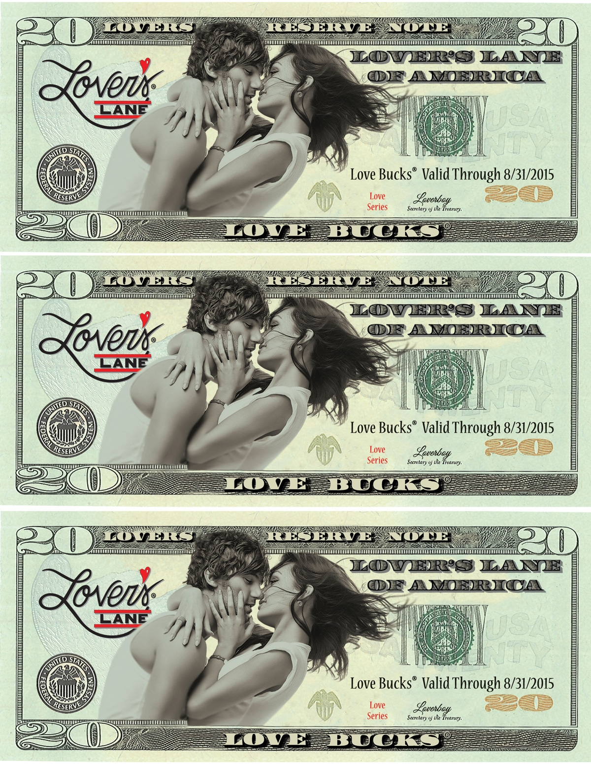 $60 Love Buck