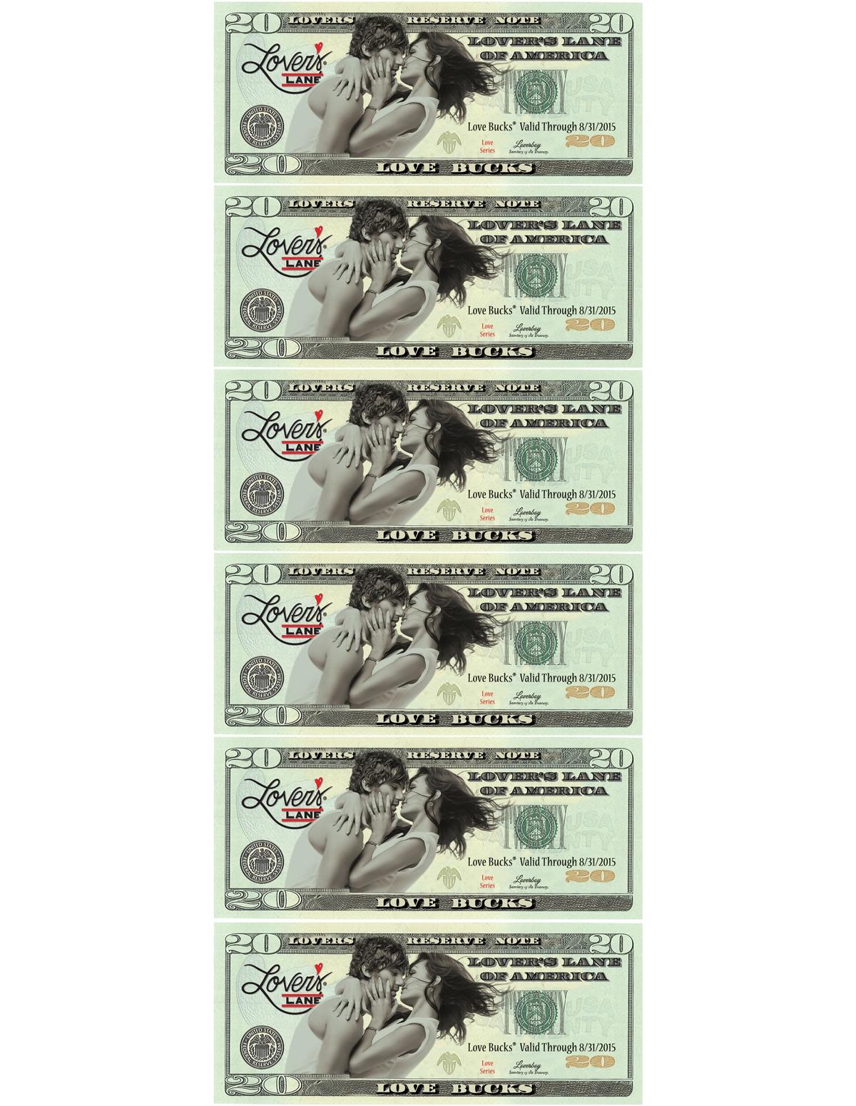 $120 Love Buck