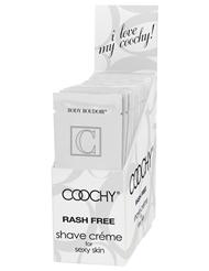 COOCHY LOVES ME .5OZ SHAVING CREAM