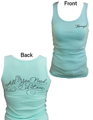 LOVERGIRL TANK TOP - ALL YOU NEED IS LOVE