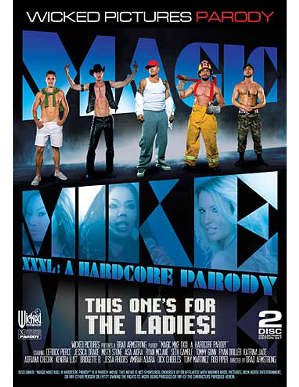 Magic Mike Xxxl 2 Disc Dvd