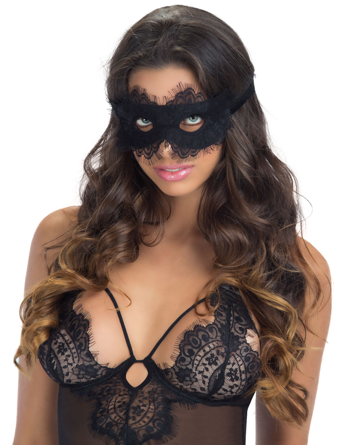 Eyelash Lace Mask