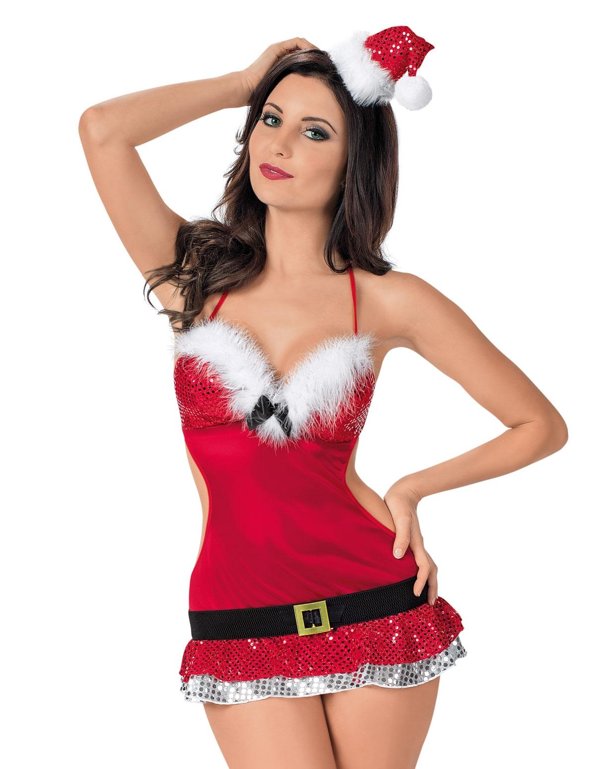 Flirty Santa Babydoll