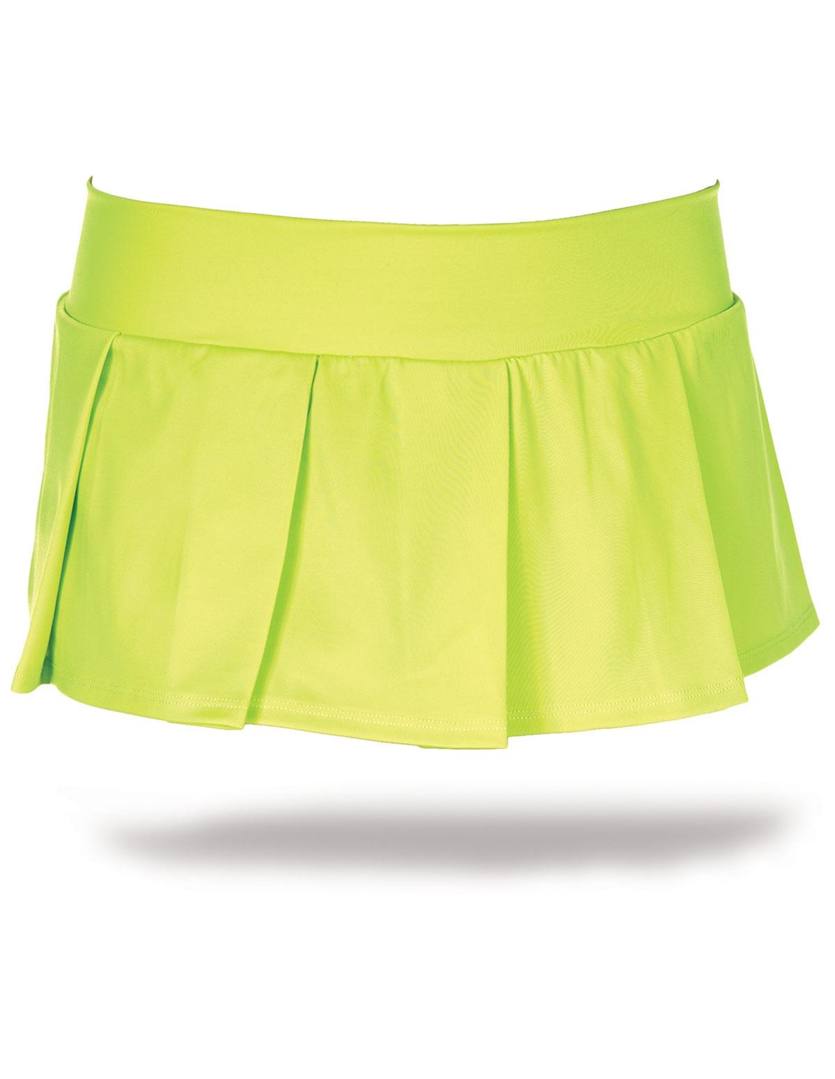 Solid School Girl Skirt