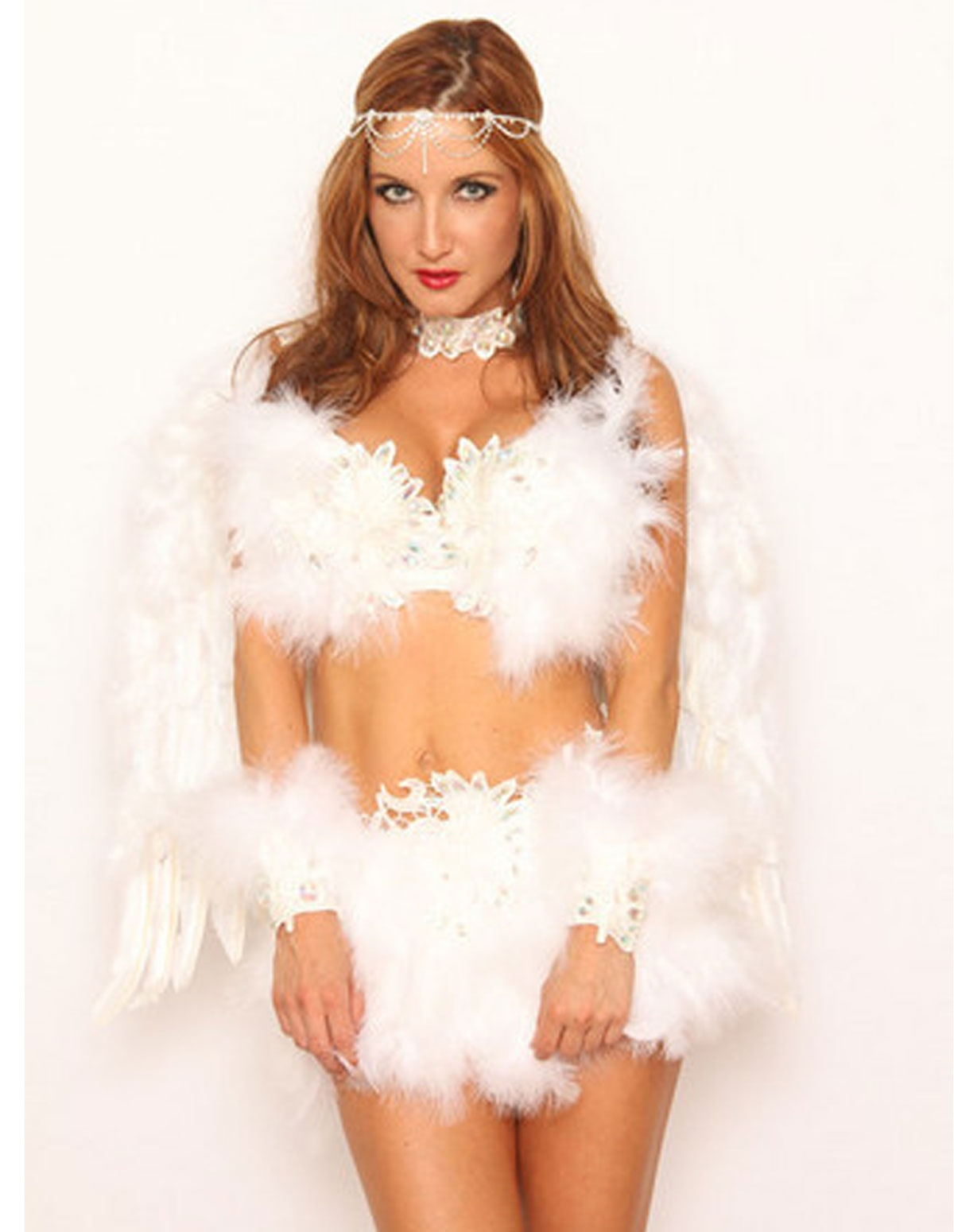 Feather 7 Piece Costume