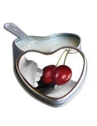 CHERRY EDIBLE MASSAGE CANDLE