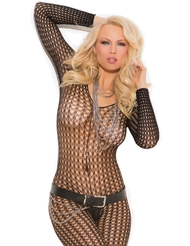CROCHET FOOTLESS BODY STOCKING