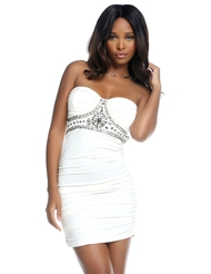 SPOIL ME JEWELED DRESS
