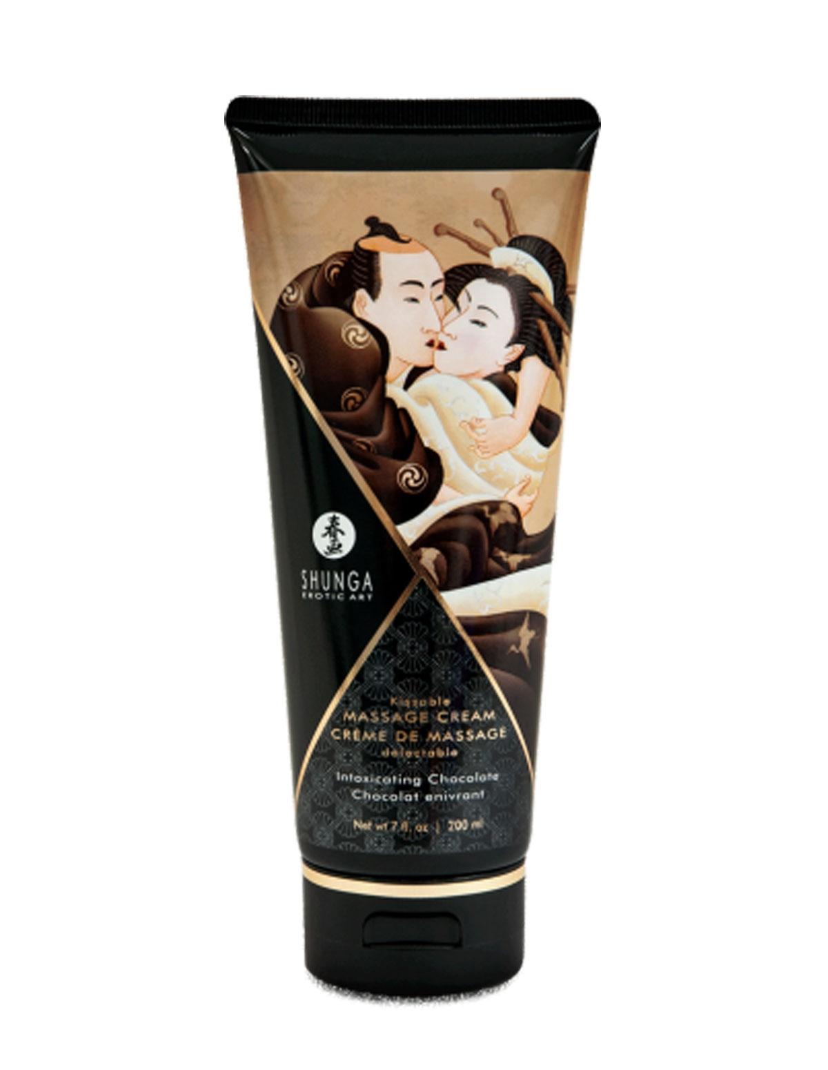 Kissable Massage Cream - Intoxicating Chocolate