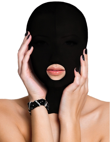 SUBMISSION MASK WITH MOUTH OPENING