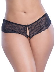 CLASSIC LACE HIPSTER WITH BOWS - PLUS