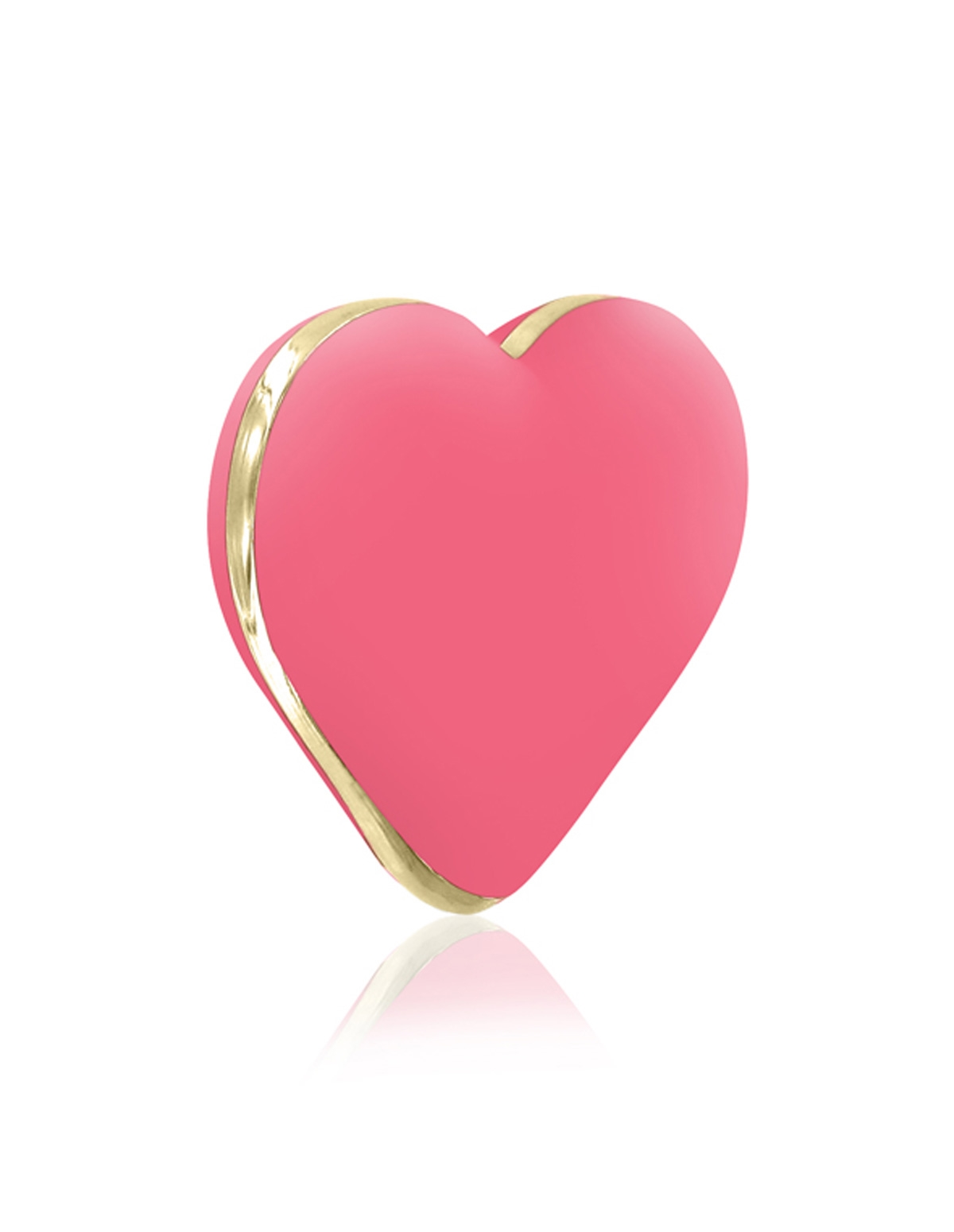 Rianne S Rechargeable Heart Vibrator Coral