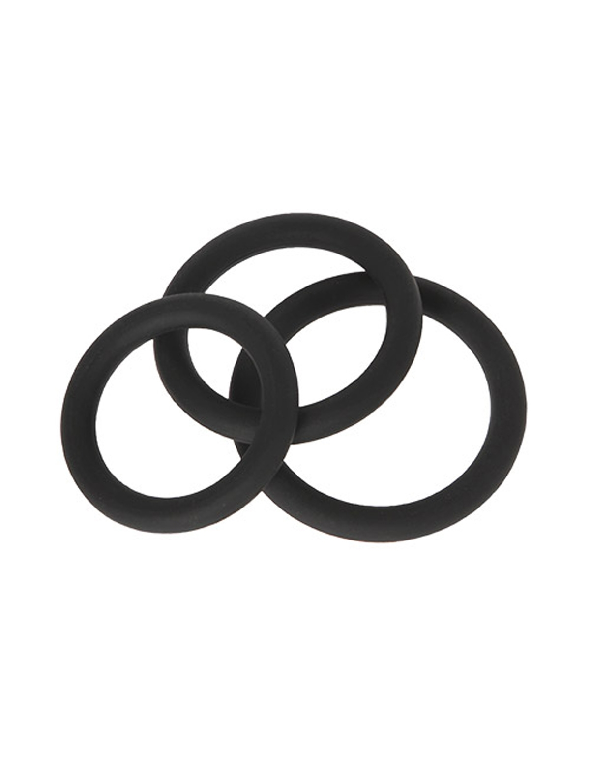 Malesation 3Pk Silicone C-Rings