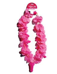 PINK LIGHT UP PECKER LEI NECKLACE