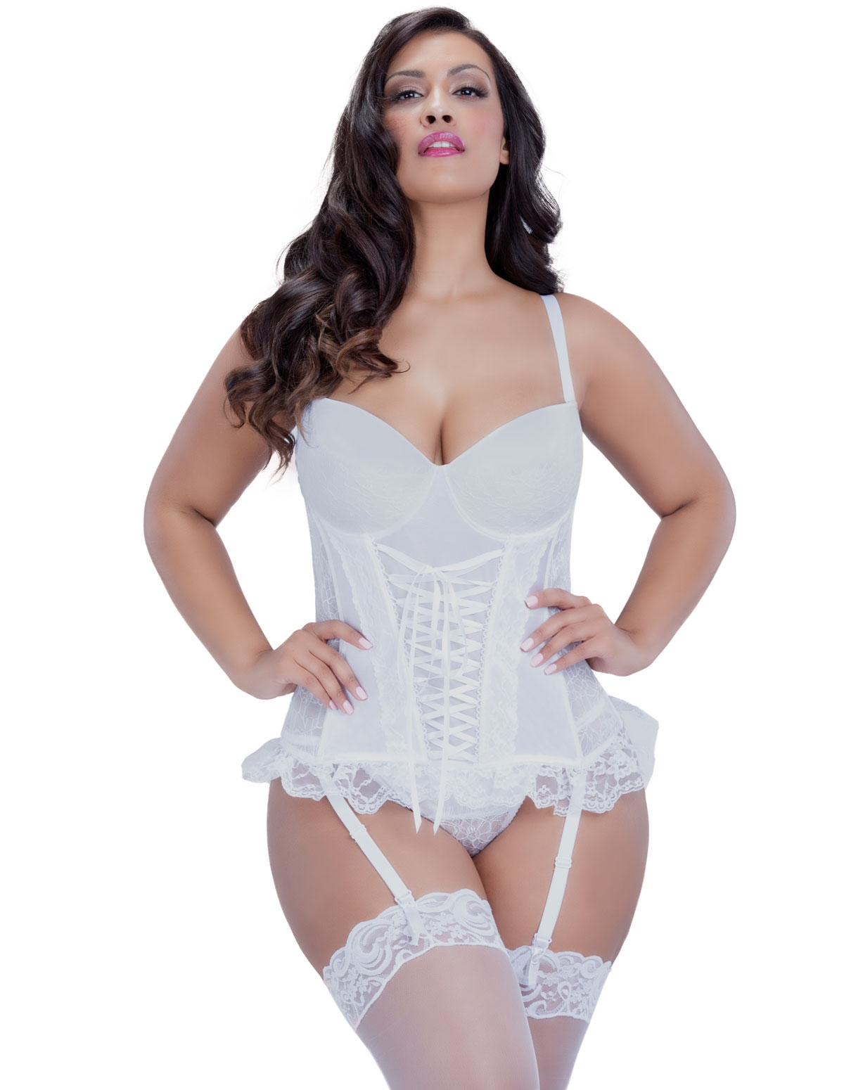 Pure Beauty Corset - Plus