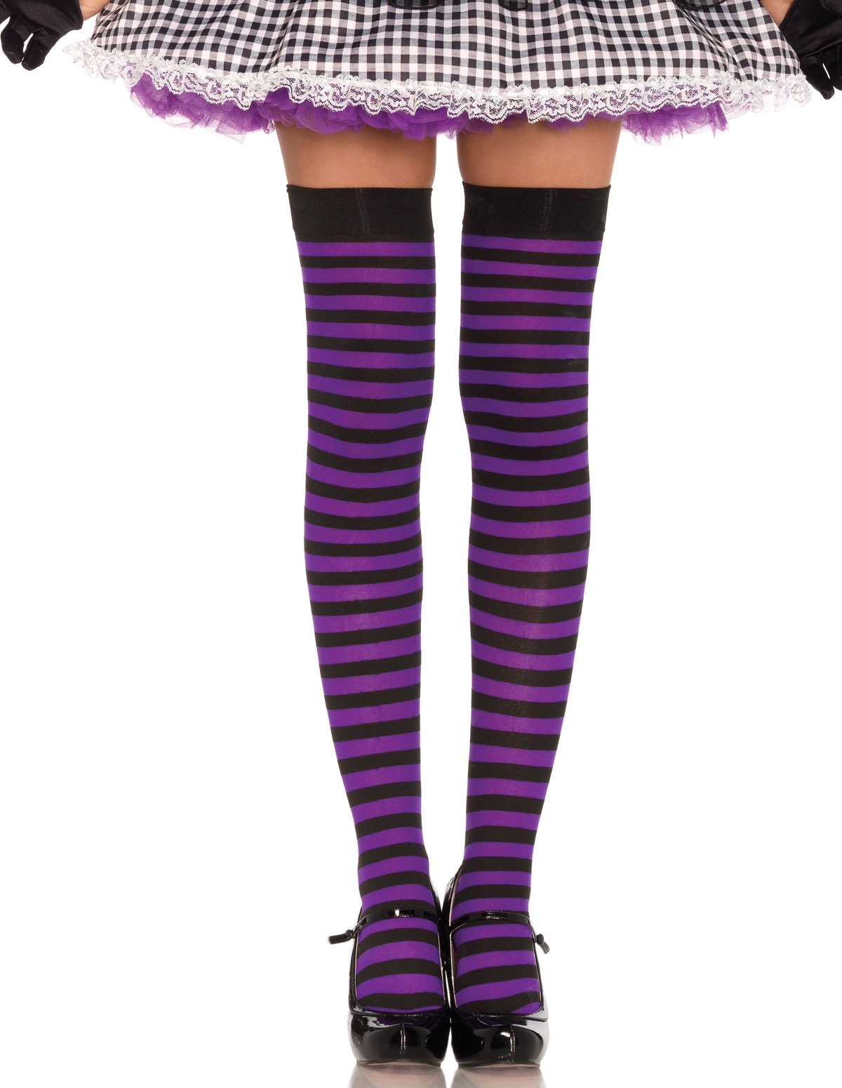 Stripe Thigh High
