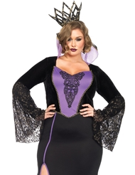 EVIL QUEEN COSTUME - PLUS