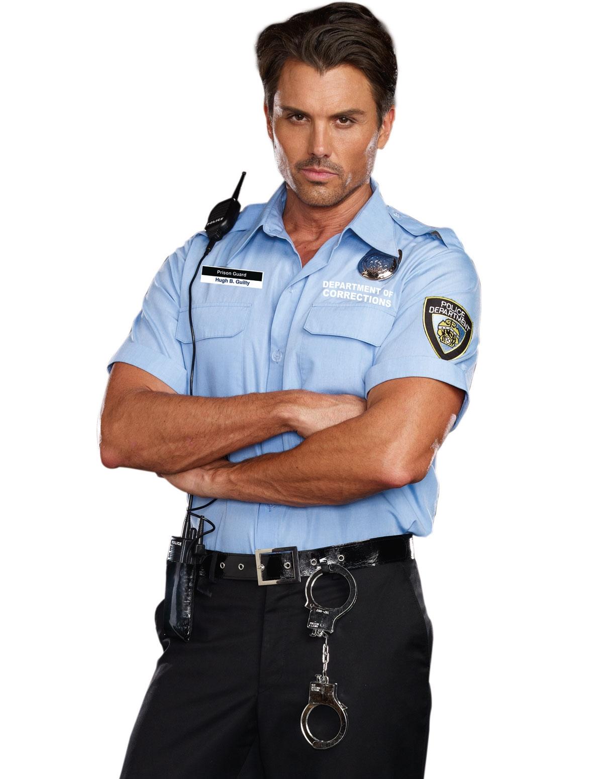 Hugh B. Guilty Prison Guard Costume