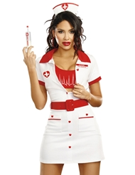 HEART THROBBING HOTTIE NURSE COSTUME