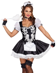 FRENCH KISSES MAID COSTUME