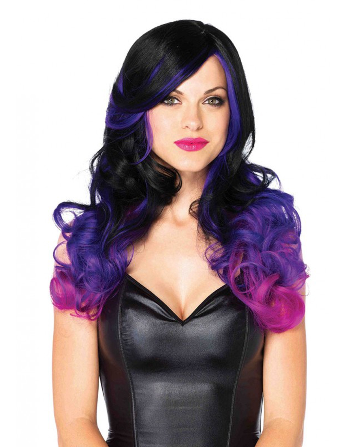 Allure Multi Color Long Wavy Wig