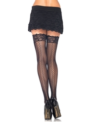 STAY UP MICRO NET THIGH HIGHS