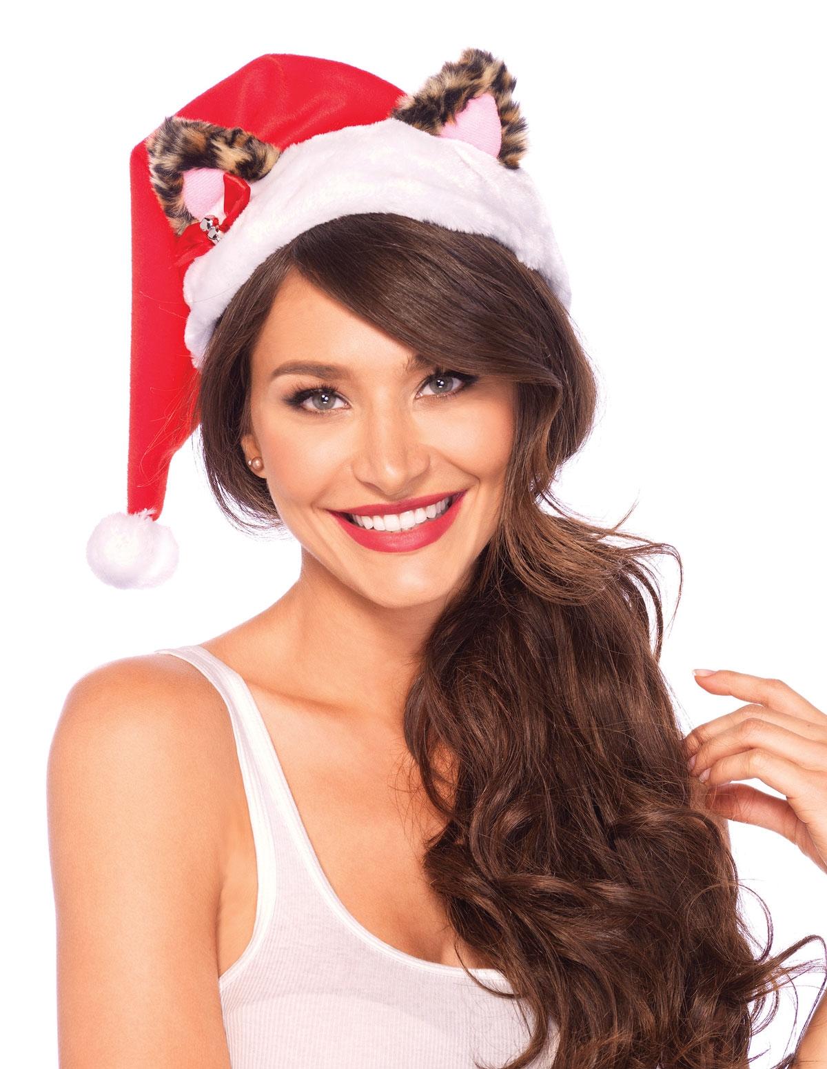 Santa Kitty Hat