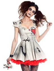 VOODOO MAGIC DOLL COSTUME