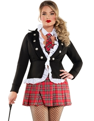 UPTOWN SCHOOL GIRL COSTUME - PLUS